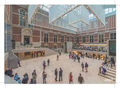 Rijksmuseum, Amsterdam/ Lighting Design: Arup/ Architect: Cruz y Ortiz/ Photograph: John Lewis Marshall