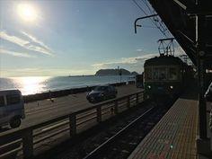 江ノ電vs自転車、どちらが速いのか!? 全区間約10kmのガチンコ勝負! [はまれぽ.com]