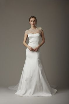 """""""The Sanctuary"""" Dress   Article: Lela Rose Spring 2016 Bridal Collection   Photography: Courtesy of Lela Rose   Read More:  http://www.insideweddings.com/news/fashion/lela-rose-spring-2016-bridal-collection/1863/"""
