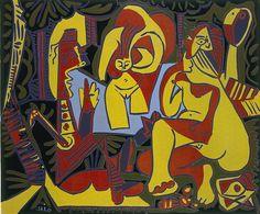 Pablo Picasso (1881-1973), 1962, Breakfast on the Grass (Śniadanie na trawie), linocut.