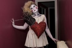 Cool idea for a Halloween Costume. Life Size Voodoo Doll