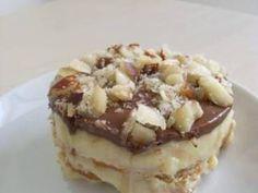 Receita de Pavê de Creme e Chocolate Amargo - Tudo Gostoso