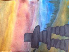 Inukshuk Classroom Art Projects, Art Classroom, 5th Grade Art, Grade 2, Arts Integration, Inuit Art, Social Art, Canadian Art, Art Programs