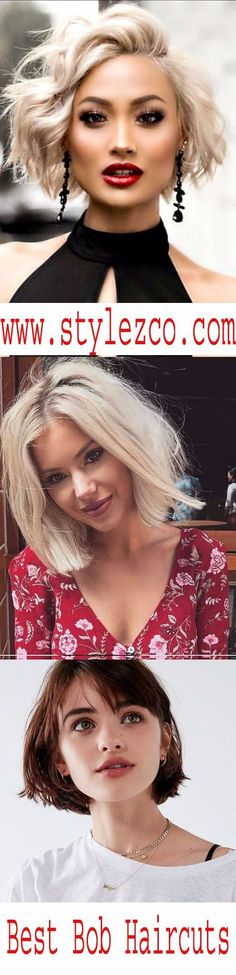 Bob Hairstyles and Haircuts for 2017. See here the best bob haircut ideas for women