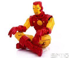 Iron Man - constructions #Lego les plus impressionnantes de l'histoire de la brique