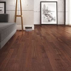 Cherry hardwood flooring - Brazilian cherry wood (Hymenaea courbaril) comes jatoba tree, a species native to South and Central America. Ash Flooring, Cherry Hardwood Flooring, Engineered Hardwood Flooring, Wooden Flooring, Flooring Ideas, Brazilian Walnut Floors, Wooden House Design, Wooden Houses, Tapis Design