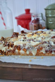 Gingerbread Seven Layer Bars