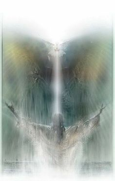 "And the Holy Spirit descended on him in bodily form like a dove. And a voice came from heaven: ""You are my Son, whom I love; with you I am well pleased."" Luke Jesus with His arms lifted to heaven, prophetic art. Jesus Christ Images, Jesus Painting, Prophetic Art, Biblical Art, Jesus Pictures, Heaven Pictures, Son Of God, God Jesus, Lord And Savior"