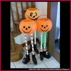 Dollar Store Crafter: Use Dollar Store Plastic Pumpkins To Make This Cut...