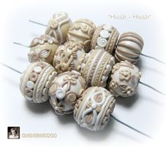 Hush-Hush by LeeLee Beads - great variety of details