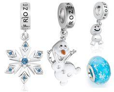 Charms Frozen Dinsey: pingentes da Vivara estilo Pandora do Olaf!