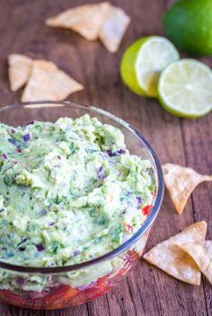 Dip-Rezepte: Guacamole