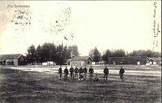 Akershus fylke Ullensaker kommune Fra Gardermoen. Utg A.L. Olsen brukt 1911