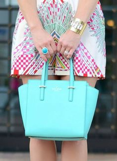 This Kate Spade handbag is perfect for Summer.