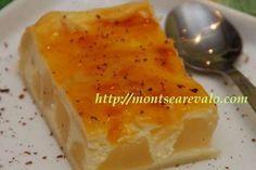 Receta Tarta de queso mascarpone y peras en almíbar, Muy fácil, Postre