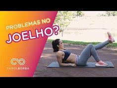 Treino de pernas para quem tem problemas nos joelhos - seguro e eficiente - Carol Borba - YouTube