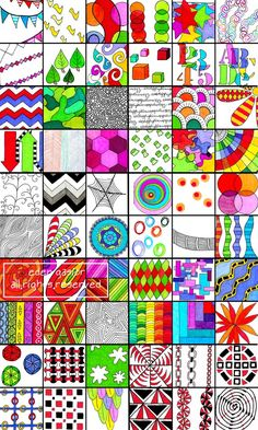 Special Listing for all 5 Sets by DrawDoodleDecorate on Etsy