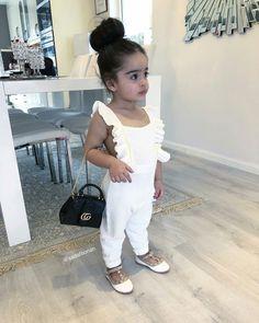 Mariela Jumpsuit – The Littl Cute Kids Fashion, Little Girl Fashion, Toddler Fashion, Cute Baby Girl Outfits, Toddler Girl Outfits, Kids Dress Wear, Baby Dress, Outfits Niños, Kids Outfits