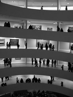 The Guggenheim (New York City) I lived a couple blocks from the Museum. When I lived on the Upper East Side..