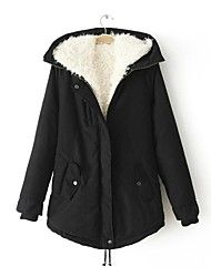 abrigo de algodón de ocio cordero capucha de la p... – MXN $ 727.43