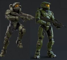 Which look for the Master Chief do you prefer? Halo 3 Odst, Halo Armor, Halo Spartan, Halo Master Chief, Halo Series, Halo Game, Starship Troopers, Halo Reach, Red Vs Blue