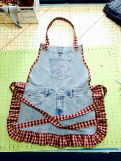 Repurpose Jean apron