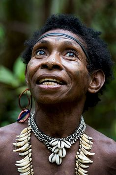 Korowai people of Papua New Guinea,  the southeastern part of the western part of Indonesian