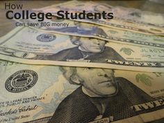 Student Savings are everywhere, you just need to know where to look, this list has countless places where college students can save money.