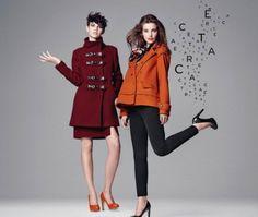 Catalogo moda donna Caractère autunno inverno 2013 2014 FOTO  #caractere #abbigliamento #abiti #clothes #dress #vestiti #autunnoinverno #autumnwinter #fashion #woman #donna #modadonna #coat #cappotto #pants