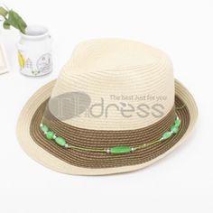 Straw beaded jazz cap Bowler Hat, Panama Hat, Jazz, Fashion, Moda, Fashion Styles, Jazz Music, Fashion Illustrations, Panama