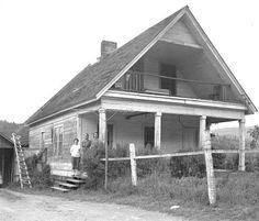 Condron house on Pedee Creek Road in Polk County, Oregon, 1959 :: Ben Maxwell Collection