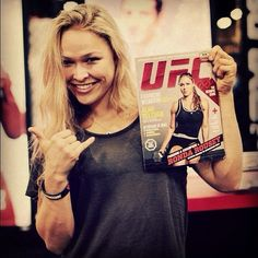 Pick up the magazine with Ronda Rousey on the cover.  Join Armbar Nation at RondaRousey.net #armbarnation
