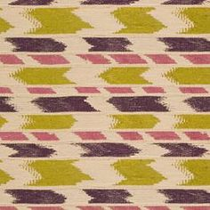 Pradish - kiwi/grape .. this is a woven in pattern and goes wonderfully with the ADA fabric in the lounge