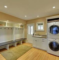 Dream mud/laundry room right off the garage entrance!!