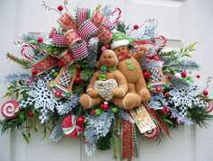 Wreath decor - traditional - holiday decorations - kansas city - by Timeless Floral Creations