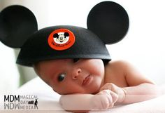 How to Do an At-Home Disney Photo Session with Your Baby|The Magical Day Baby Blog | A Disney Fan Site for Parents