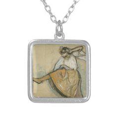 Russian Dancer by Edgar Degas Pendant