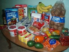 Brigette's $77 Grocery Shopping Trip and Weekly Menu Plan for 6 -- this is inspiring! Click through for ALL the pictures!