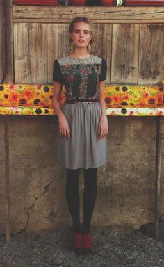 Bohemian Folk Lookbooks - The Anthropologie September 2011 Catalog is Full of Flair (GALLERY)
