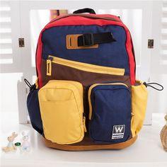 2646f9a17b0f High Quality Children Canvas Satchel Campus Backpacks For Teenage Girls  Boys Kids School Bags Students Mochila Escolar Sac A Dos