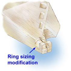 GIA ~ Bench Tip #13: Ergonomics for Bench Pin Modifications