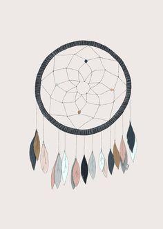 Image of Affiche Dreamcatcher