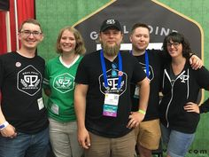 Friends - it's been many moons since our crusade began. So for those who do not know us yet let us introduce ourselves for #fridayintroductions. On our team shown left to right we have our COO Jeff Kusterbeck (@olkus1) our Creative Director Melissa Rogers (@dancingwedgies) our Master Brewer Keith Wickstrom (@kawickstrom) our CEO Tyler Oyler (@lawfulbat) and our Events/Social Director Lauren Beacham (@laurenmbeacham). Cheers everyone! We love being on this journey with you.