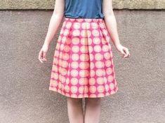 Skládaná sukně krok za krokem : Jana Admin