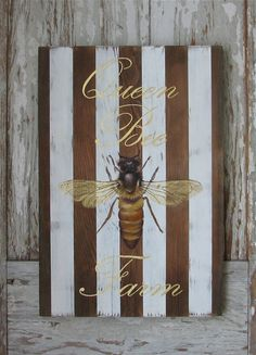 Welcome to our web site, and we hope you enjoy the original acrylic paintings on reclaimed rustic solid wood. This piece is made to order. We take pride in finding boards that have beautiful unique natural qualities. All of our calligraphy is hand done, and not press on lettering. Our art work is ready to hang and signed and dated by the artist Gigi. We welcome commission work, and can accommodate most sizes and shape, including out door signs, please contact us for more information about…