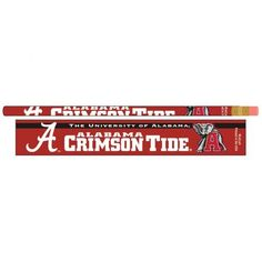 Alabama, University of Pencil 6-pack MNF
