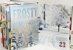 December Daily scrapbook