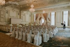 Classic White and Green Wedding. | Toronto Luxury Wedding Flowers and Decor | Romantic