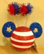 "Disney Car Antenna Topper ""Stars & Stripes Mickey"""