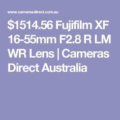 $1514.56 Fujifilm XF 16-55mm F2.8 R LM WR Lens | Cameras Direct Australia